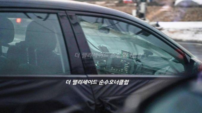 Hyundai Ioniq 5: la foto spia degli interni catturata da The Korean Car Blog