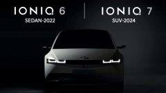 Hyundai Ioniq 6 sedan (2022) e Ioniq 7 SUV (2024). Ultime news