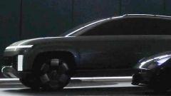 Nuova Hyundai Ioniq 7: teaser del SUV elettrico coreano