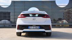 Hyundai Ioniq, il posteriore