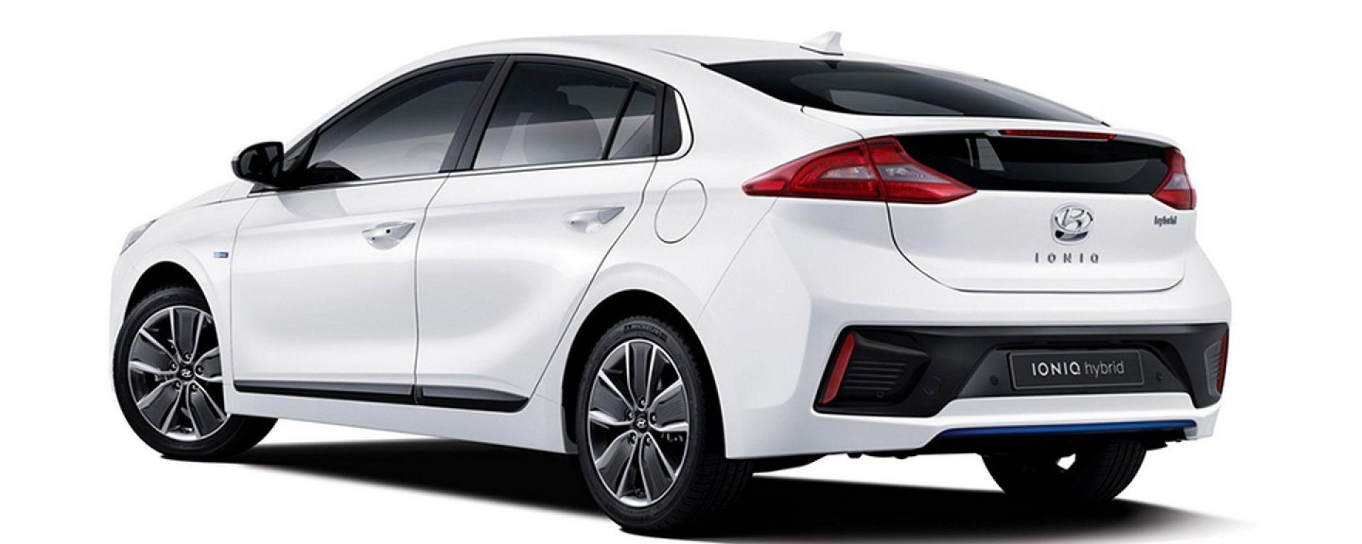 Hyundai Ioniq, nuove immagini e informazioni