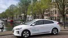 Hyundai Ioniq: le 100 auto garantiscono 280 km di autonomia
