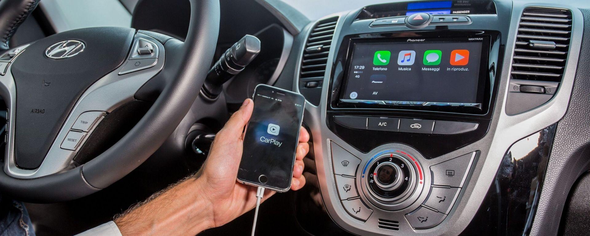 Hyundai ix20 App Mode - Apple Car Play