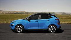Hyundai Kona 2021 Electric: visuale laterale