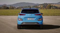 Hyundai Kona 2021 Electric: visuale posteriore