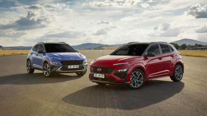 Hyundai Kona 2021: il restyling del SUV compatto