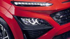 Hyundai Kona 2021 N Line: particolare dei nuovi gruppi ottici