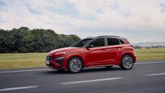 Hyundai Kona 2021 N Line: visuale di 3/4 anteriore