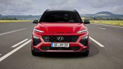 Hyundai Kona 2021 N Line: visuale frontale