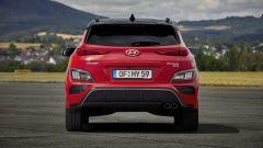 Hyundai Kona 2021 N Line: visuale posteriore