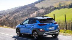 Hyundai Kona 2021: posteriore