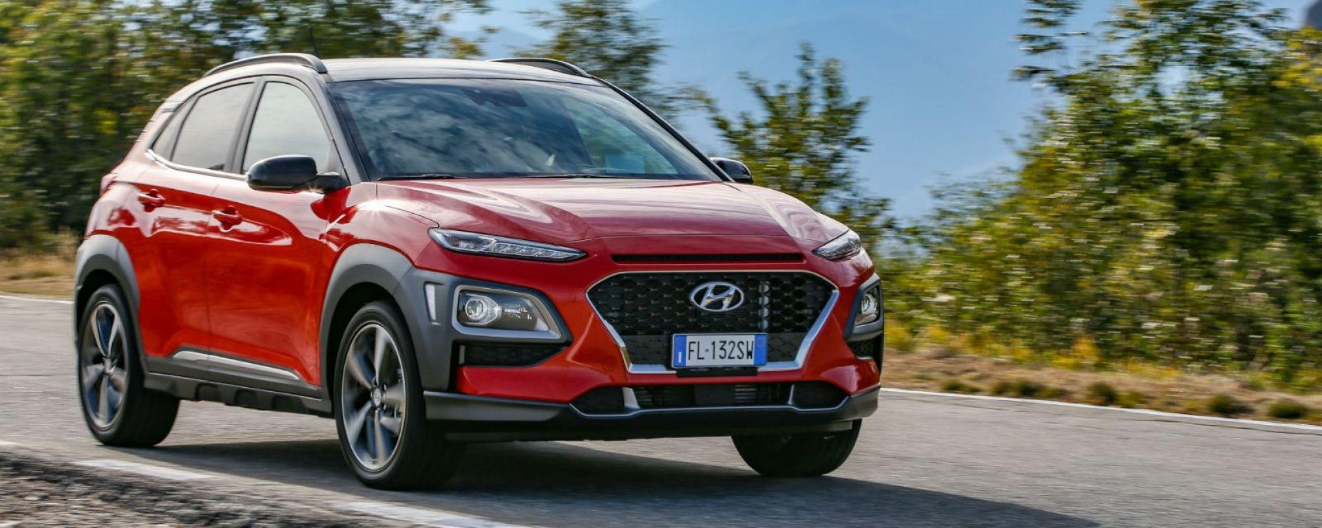 Hyundai Kona - 5 stelle Euro NCAP
