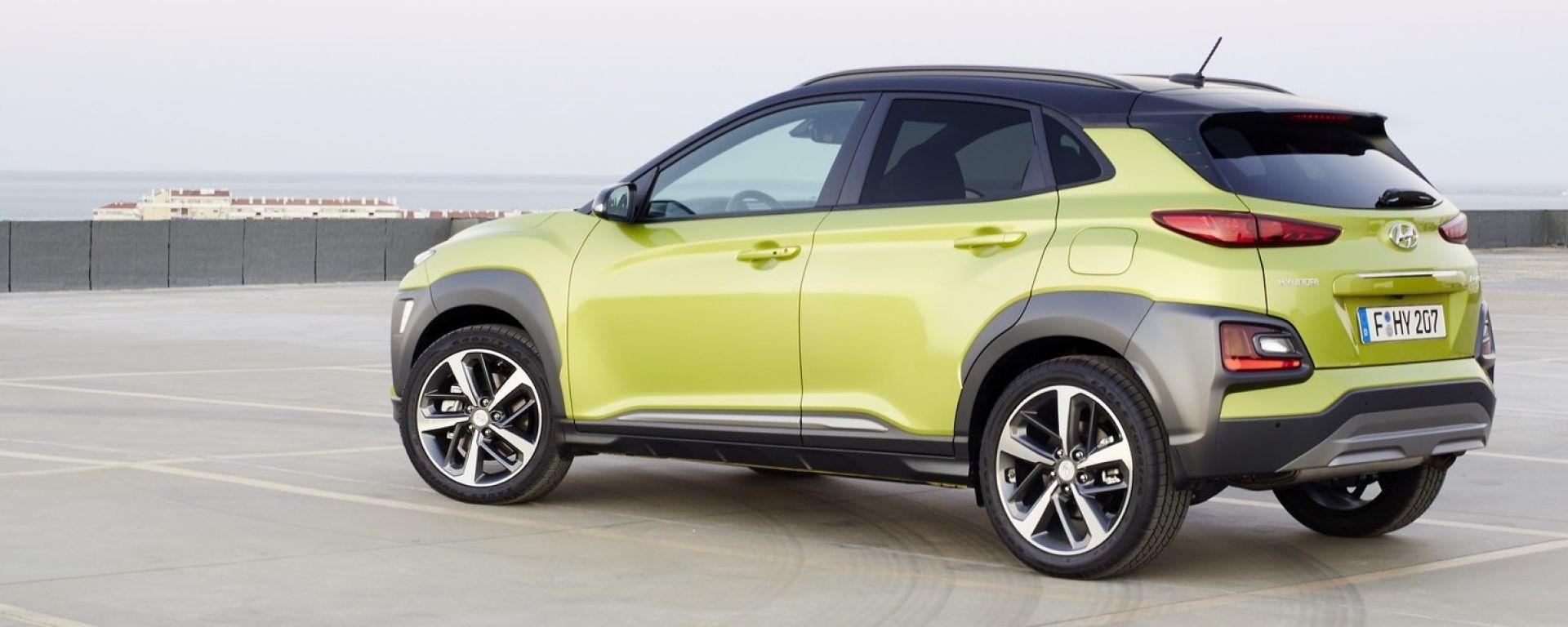 Hyundai Kona A Francoforte 2017 Prezzo Dimensioni E