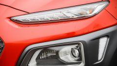 Hyundai Kona - dettaglio fari e luci