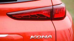 Hyundai Kona - dettaglio luce posteriore