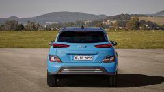 Hyundai Kona Electric 2021: il posteriore