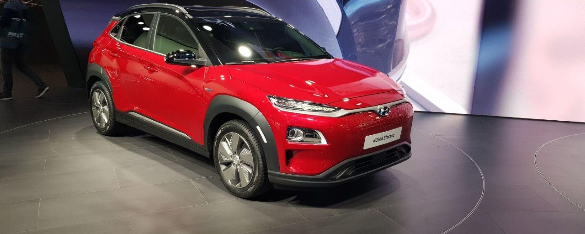 Hyundai Kona Electric al Salone di Ginevra 2018
