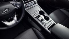 Hyundai Kona Electric: console centrale
