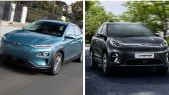 Hyundai Kona Electric, Kia e-Niro: autonomia corretta al ribasso