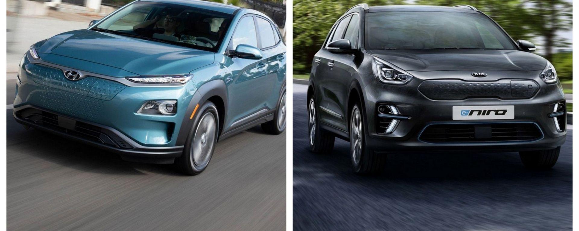 Hyundai Kona Electric e Kia e-Niro