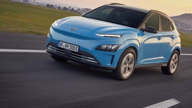 Hyundai Kona Electric: frontale