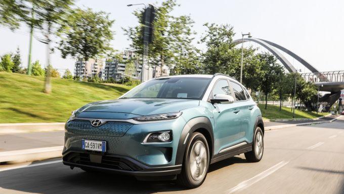 Hyundai Kona Electric: il B-SUV coreano disponibile con due motorizzazioni