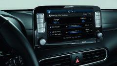 Hyundai Kona Electric: il display centrale