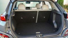 Hyundai Kona Electric: il vano posteriore