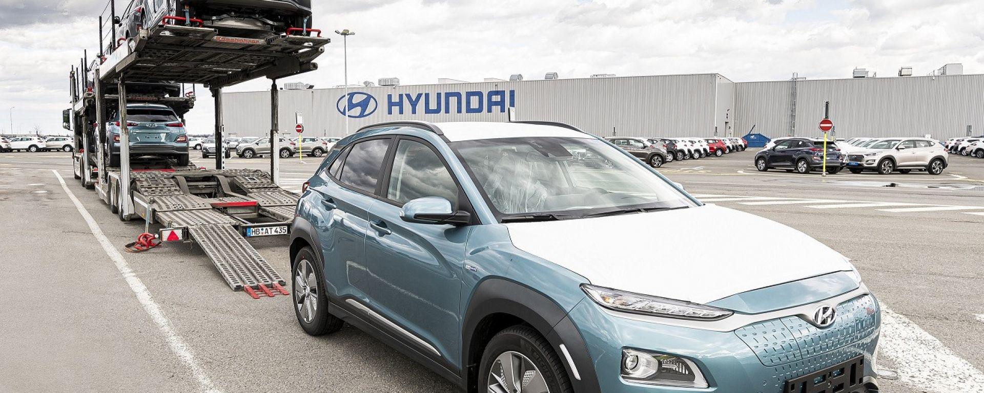 Hyundai Kona Electric: in consegna le prime unità nate in Europa