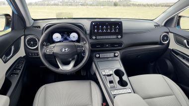 Hyundai Kona Electric: interni