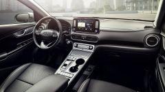 Hyundai Kona Electric: la plancia