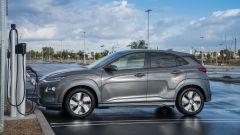 Hyundai Kona Electric pronta per la ricarica