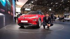 Hyundai Kona Electric: in video dal Salone di Ginevra 2018 - Immagine: 3