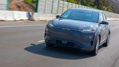 Hyundai Kona Electric: vista frontale
