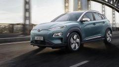 Hyundai Kona elettrica, autonomia da record