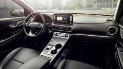 Hyundai Kona elettrica, gli interni