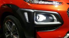 Hyundai Kona: gruppi ottici di disegno inedito
