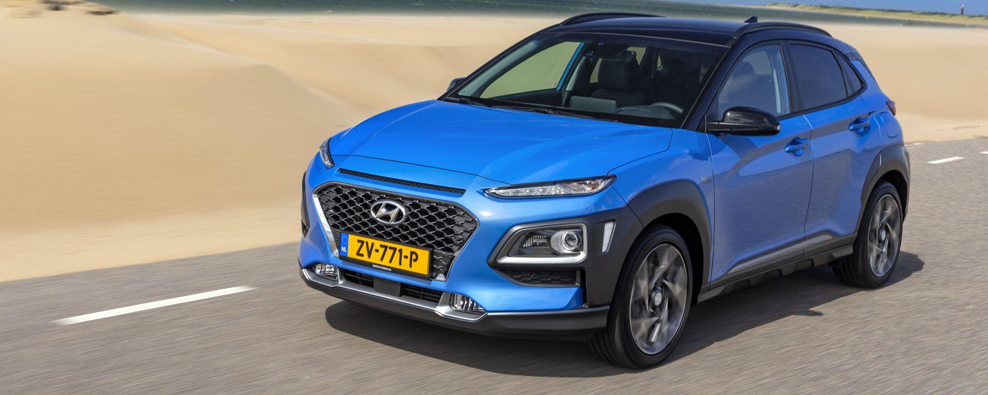 Nuova Hyundai Kona Hybrid 2019: la prova [VIDEO] del SUV ibrido