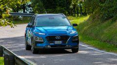 Hyundai Kona Hybrid, consumi dichiarati di 5 l/100 km