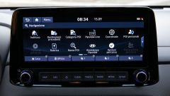 Hyundai Kona Hybrid, display di navigazione