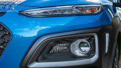 Hyundai Kona Hybrid, faro anteriore