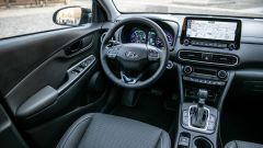 Hyundai Kona Hybrid, gli interni