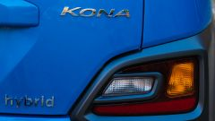 Hyundai Kona Hybrid, logo posteriore