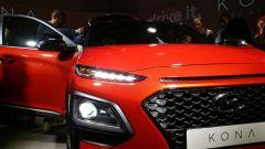 Hyundai Kona: il frontale