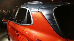 Hyundai Kona: il montante posteriore