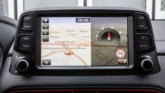 Hyundai Kona - infotainment touchscreen