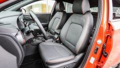 Hyundai Kona - interni sedili anteriori