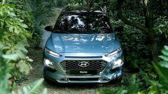 Hyundai Kona, la cascade grille