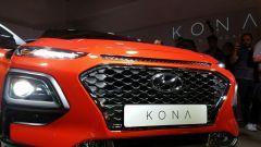 Hyundai Kona: la griglia frontale
