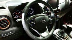 Hyundai Kona: la plancia di comando